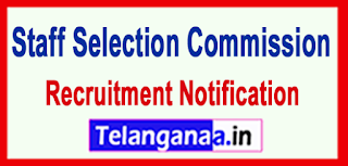 Staff Selection Commission SSC Recruitment Notification 2017 Last Date 16-06-2017