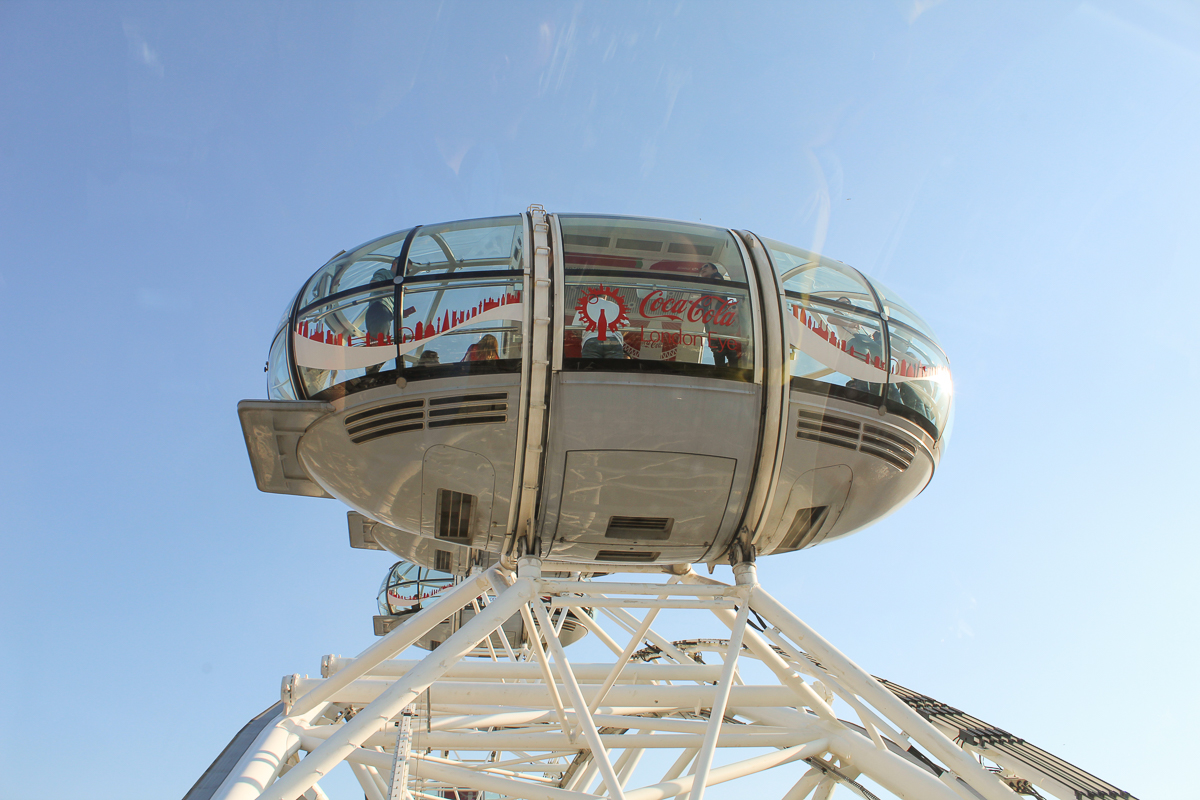 coca cola london eye VIP treatment