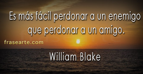 frases de amistad - William Blake