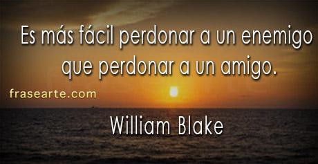 frases de amistad - William Blake