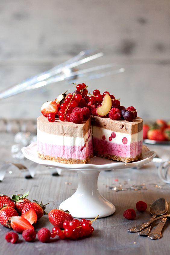 torta bella e buona alla frutta