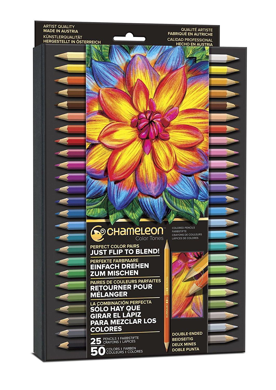 Dina Kowal Creative: Product Review: Chameleon Color Tones ...  Prismacolor