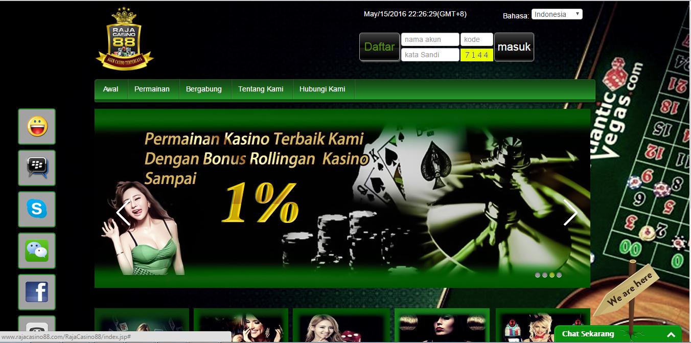 Situs Casino Online Terbaik Rajacasino88