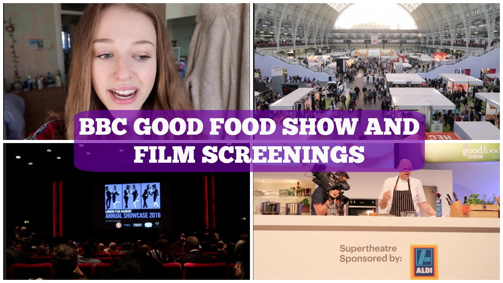The Weekly Vlog: BBC Good Food Show and Film Screenings