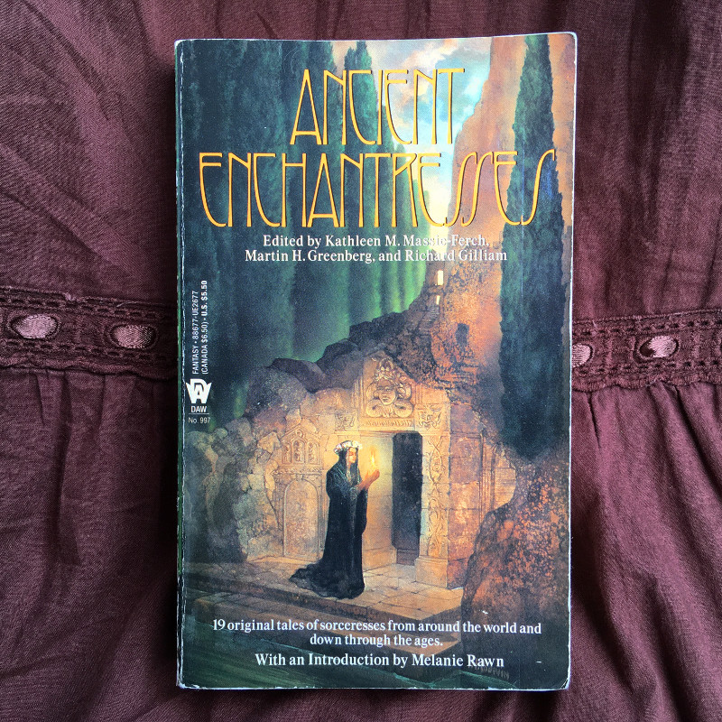 Ancient Enchantresses (Fantasy Anthology) | Lydia Sanders #TwistyMustacheReviews