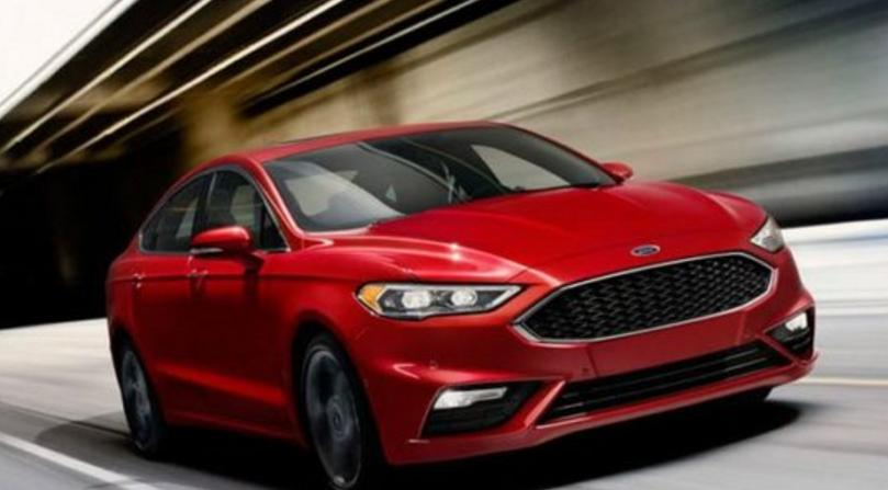 2019 Ford Fusion Redesign Spy Photos
