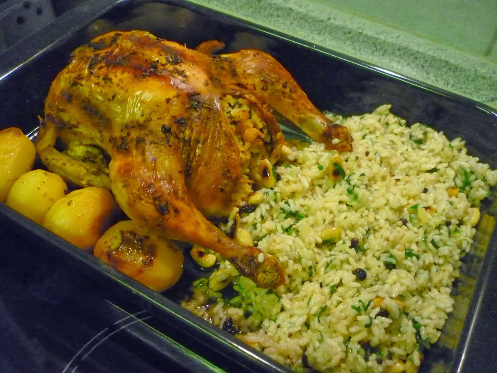 Tavuk Dolması – Poşette Tavuk