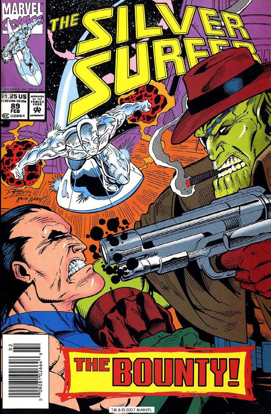 Read online Silver Surfer (1987) comic -  Issue #89 - 1