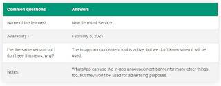 Akun whatsapp anda akan dihapus 2021