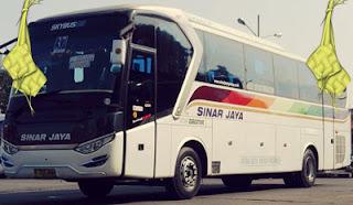 Harga Tiket Lebaran 2016 Bus Sinar Jaya