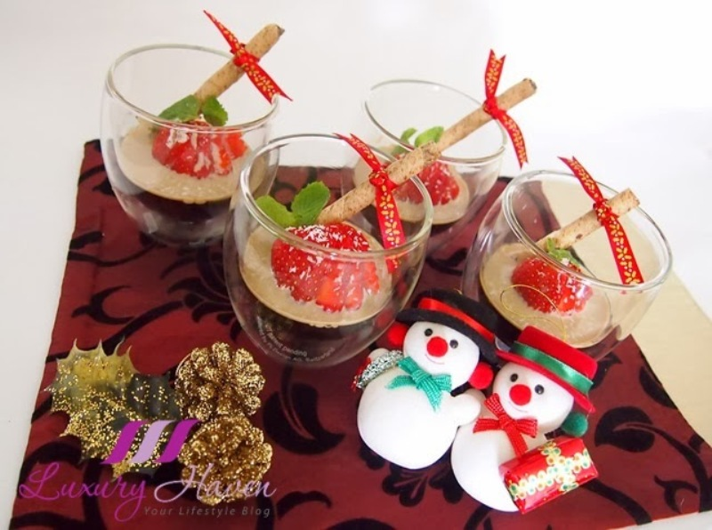 christmas dessert recipe baileys coffee jelly