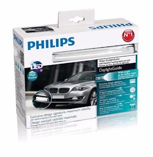 SALE PHILIPS LED DRL Daylight Guide 12825WLEDX1 DAYTIME RUNNING LIGHTS 12V 15W