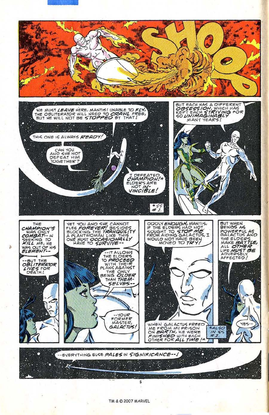 Read online Silver Surfer (1987) comic -  Issue #5 - 8