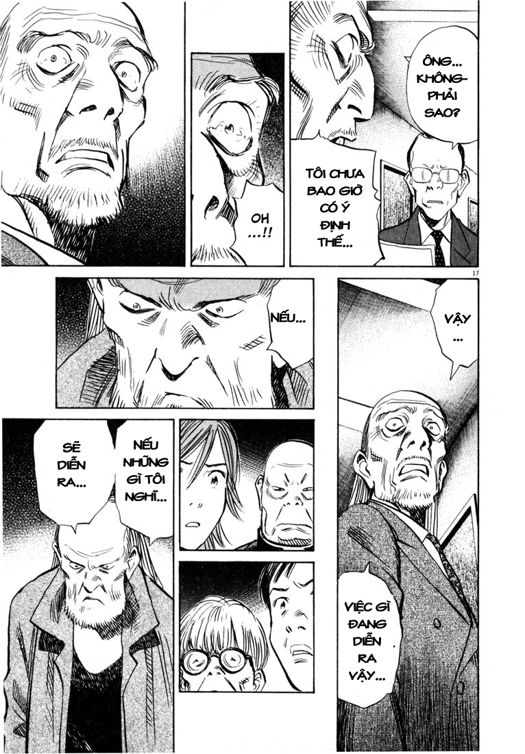 20th Century Boys chapter 165 trang 17