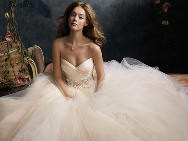 Wedding Trends Blush Wedding Dresses Belle The Magazine