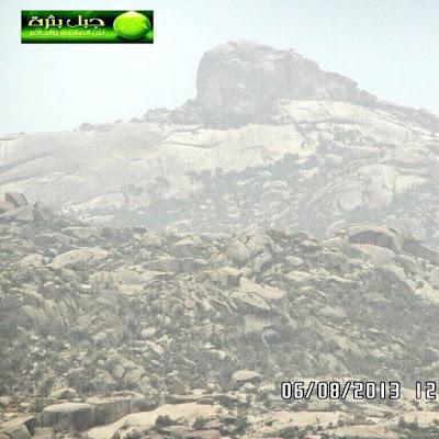 لماذا سُمي بـــ جبل بثرة ؟