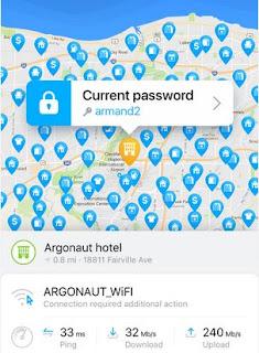 Temukan wifi gratis dengan wifi map