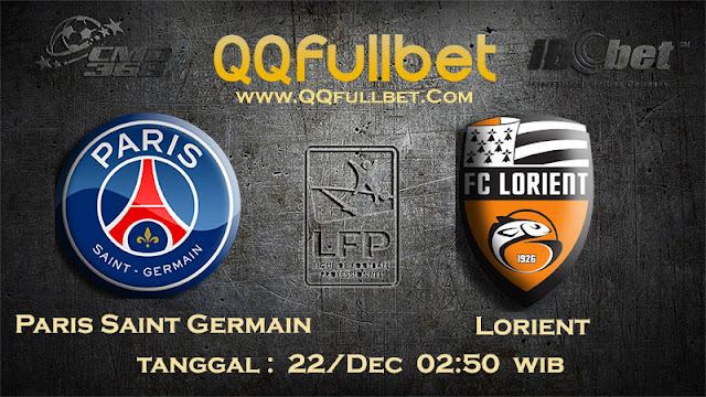 PREDIKSIBOLA - Prediksi Taruhan Bola Paris Saint Germain vs Lorient 22 Des 2016 (Liga 1 Perancis)