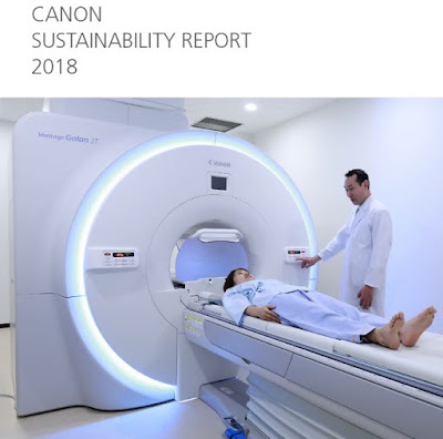 Canon Sustainability Report 2018