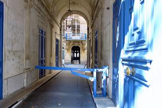 Paris : Passage des Dames de Saint-Chaumond, divine surprise traversante d'un hôtel particulier rocaille, rescapé des grands travaux d'Haussmann- IIème
