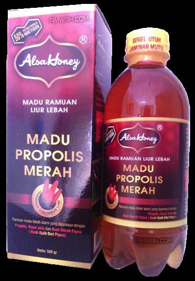 Madu Propolis Merah Alsa Honey An-Nuur