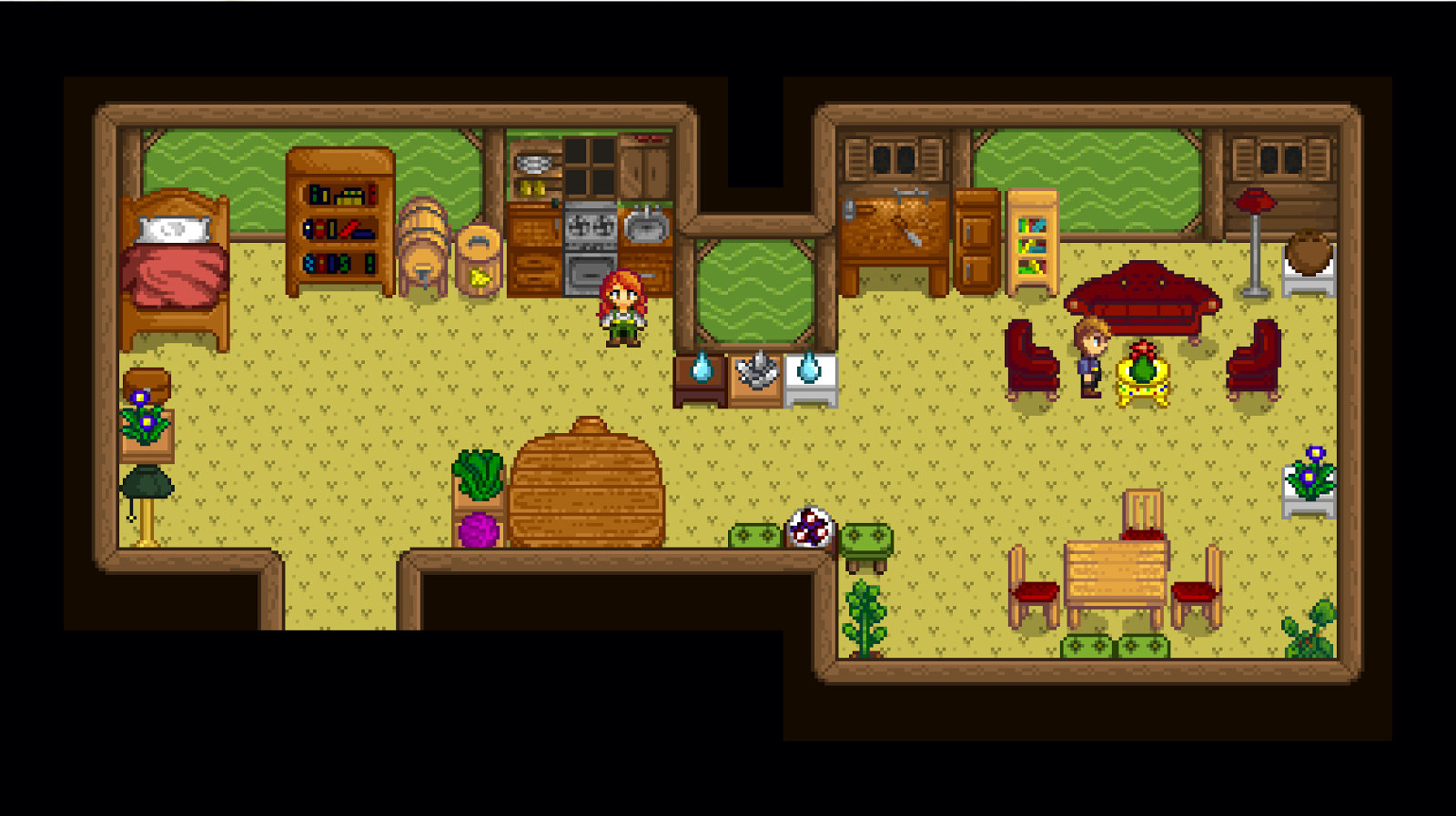 Stardew Valley House Decoration - Apartment Home Decor