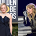 Taylor Swift manda recado para Elisabeth Moss no Globo de Ouro e ela tem a melhor reação