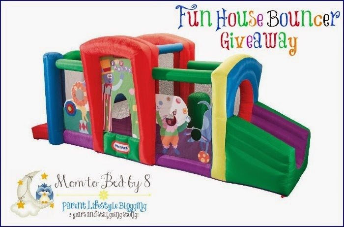 Sign up for the Little Tikes Fun House Bouncer Blogger Opp. Event starts 7/11.