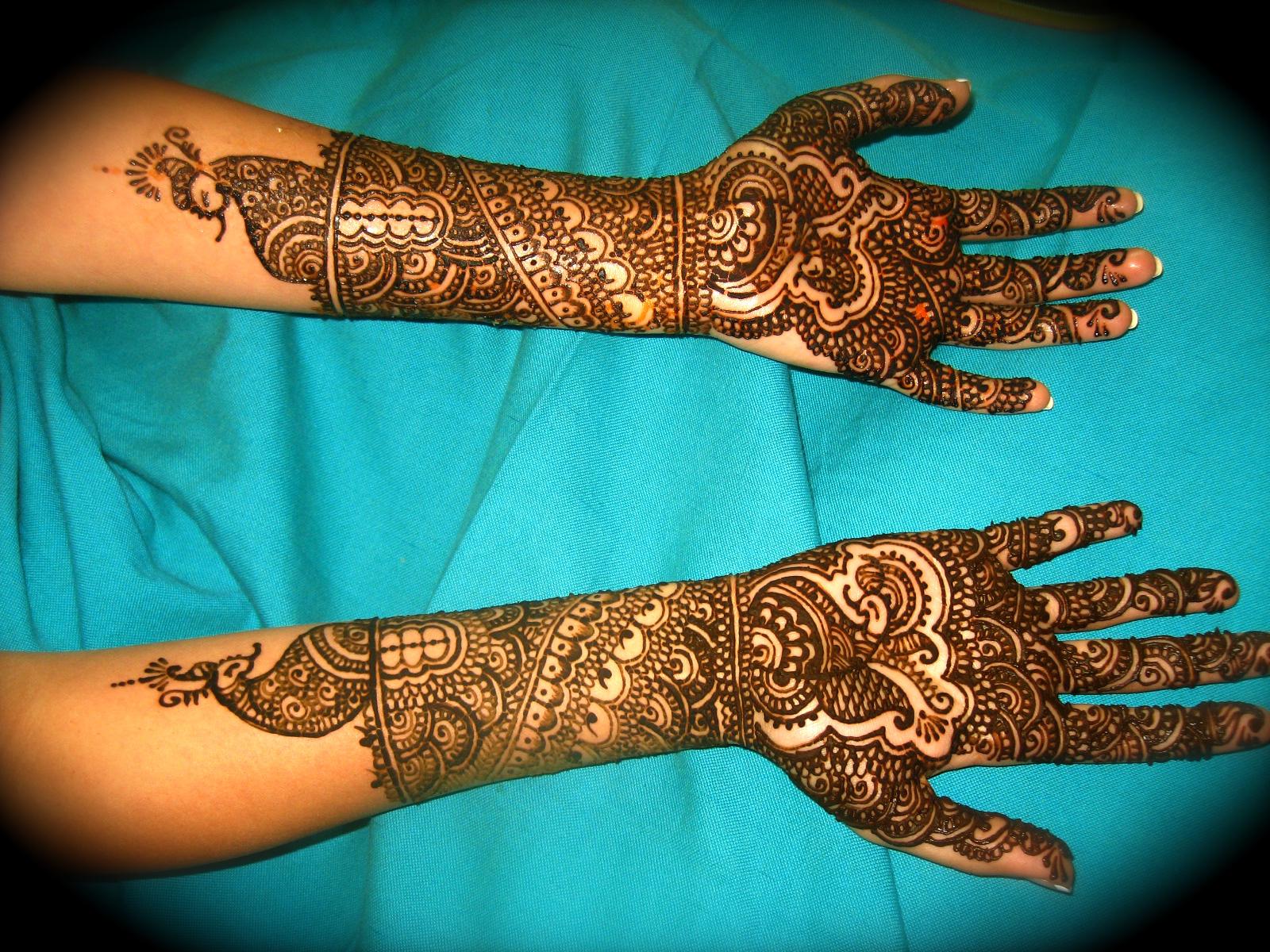Hand Mehndi Designs For Unique: Bridal Mehndi Designs: Unique Mehandi Design For Hands