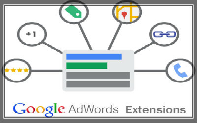 Search Ads With Extensions in adwords-400x250