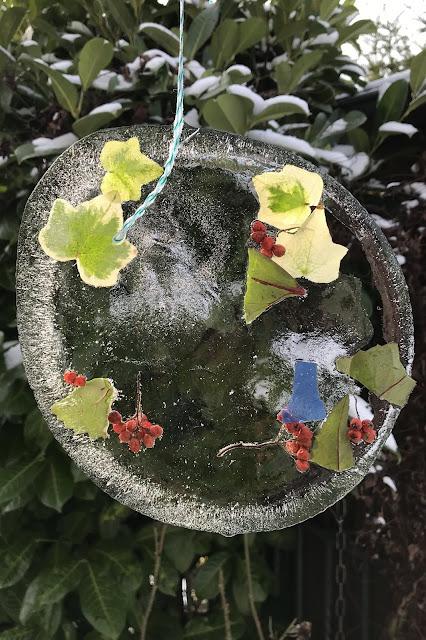DIY Eisbilder Winter Garten Sonnenbilder 2 Jules kleines Freudenhaus