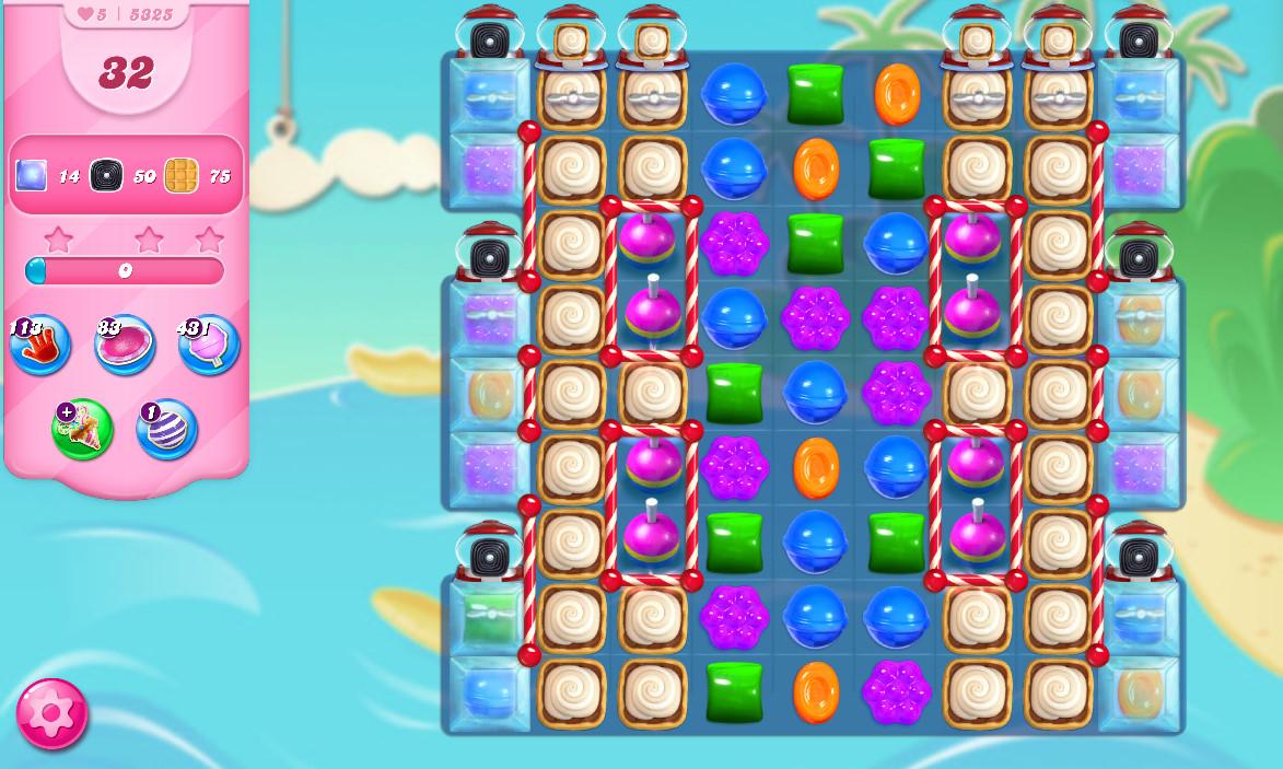Candy Crush Saga level 5325