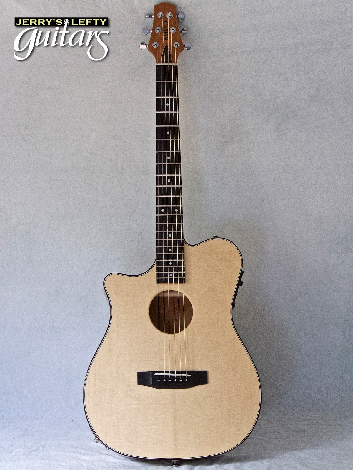 jerry 39 s lefty guitars newest guitar arrivals updated weekly carvin ac275 used left handed. Black Bedroom Furniture Sets. Home Design Ideas