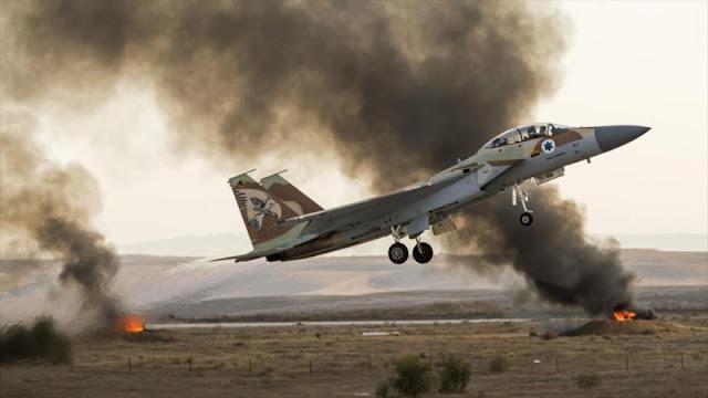 Israel no da tregua y vuelve a atacar con cazas la Franja de Gaza