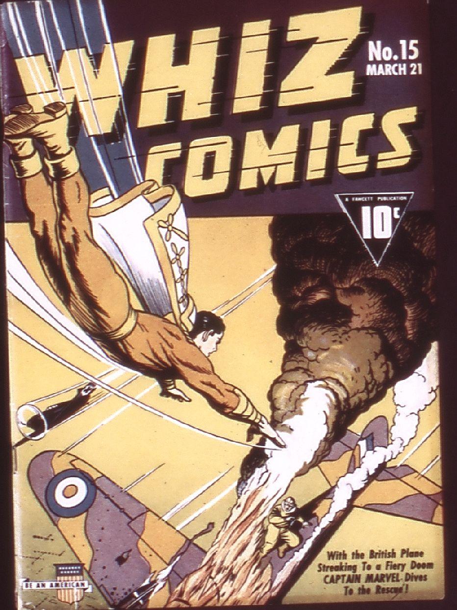 WHIZ Comics 15 Page 1