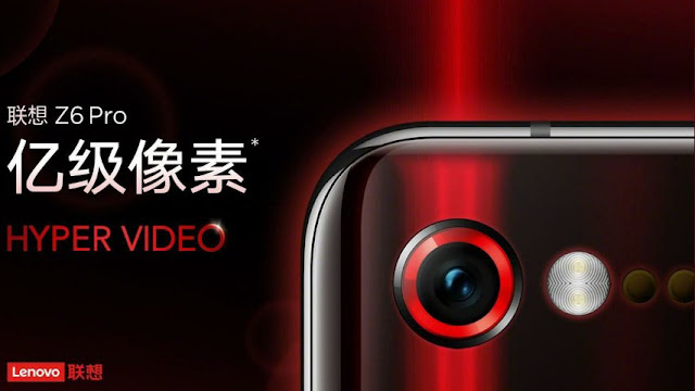 Lenovo Z6 Pro the world's first smartphone expected to come with 100MP camera