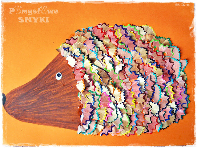 Dodatkowe Jeże kreatywnie - ponad 20 pomysłów DIY - Pomysłowe Smyki Mamy NY76