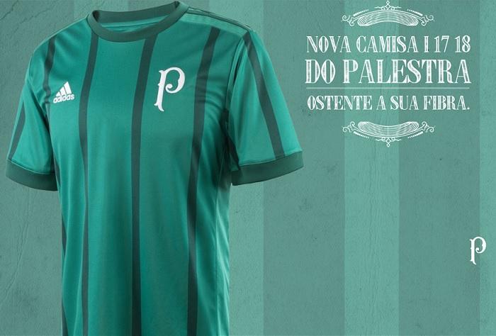 Camisa do Palmeiras para Brasileirão remete a título de 1942 ~ FutGestão 18eb204d324fb