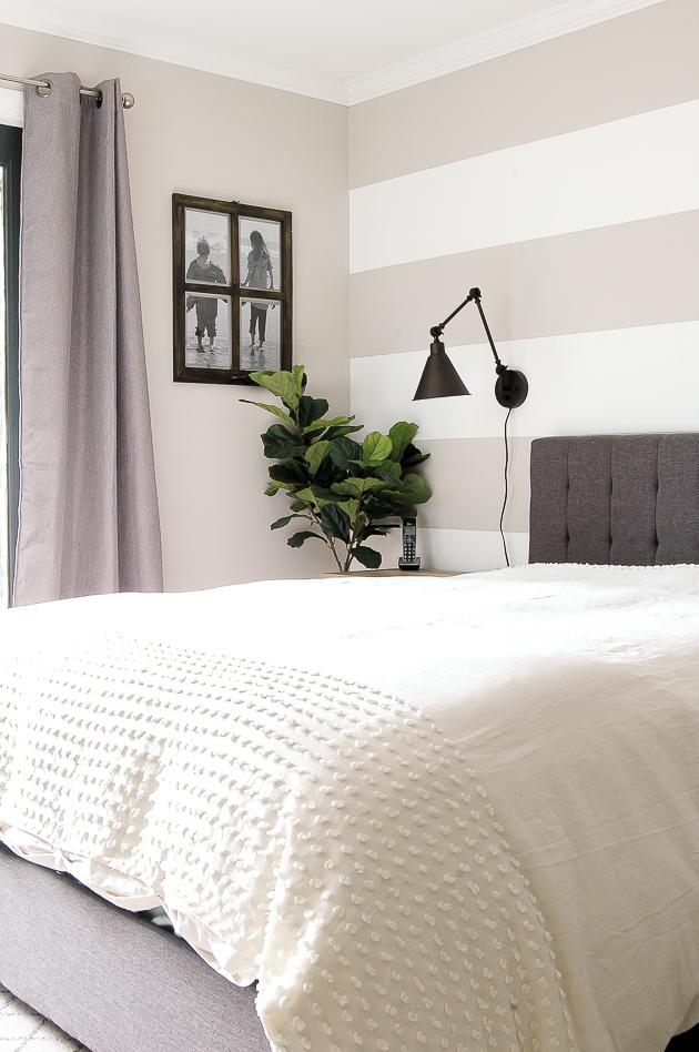 Modern Farmhouse Bedroom Update | Little House of Four ...
