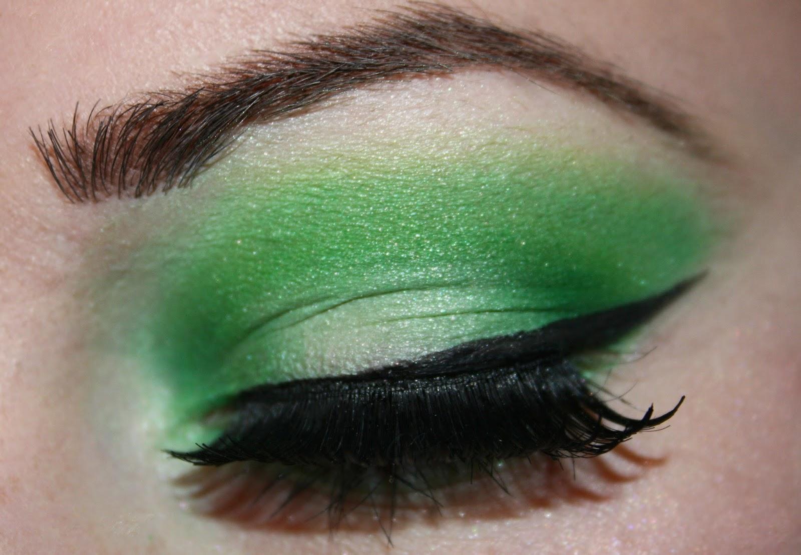 Mike wazowski makeup