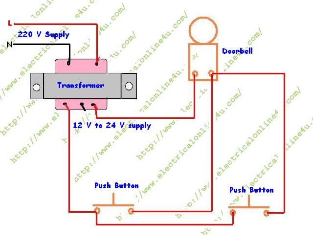2 door chime wiring schematic