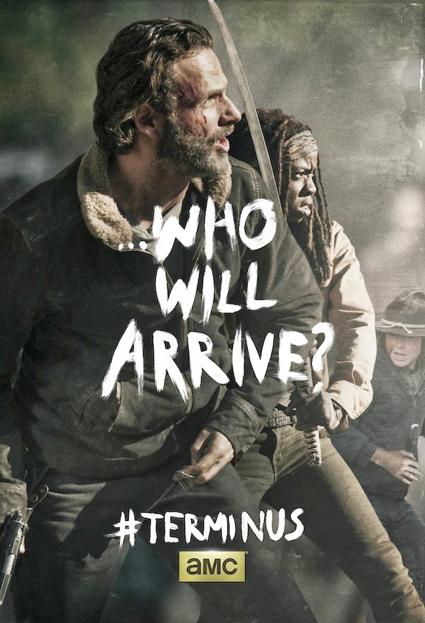 "Poster de la season finale de ""The Walking Dead"" (T4)"