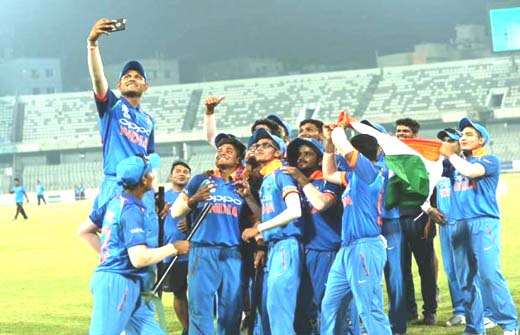 India Under-19 wins Asia Cup 2018