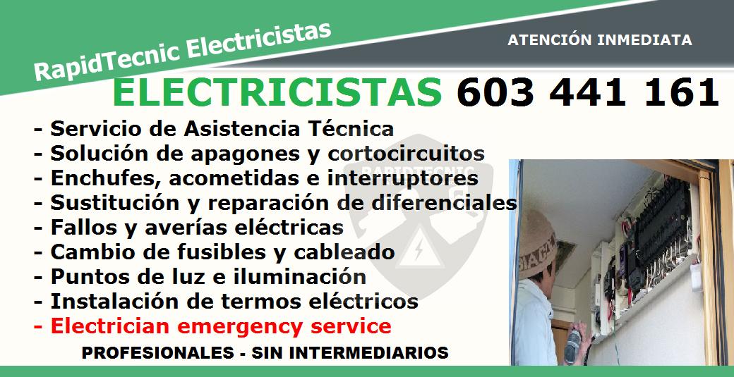 Rapidtecnic murcia electricistas alberca murcia 603 441 161 - Electricistas en murcia ...