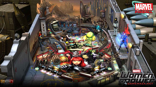 Pinball FX2 Marvel Women of Power Gameplay Screenshot 1