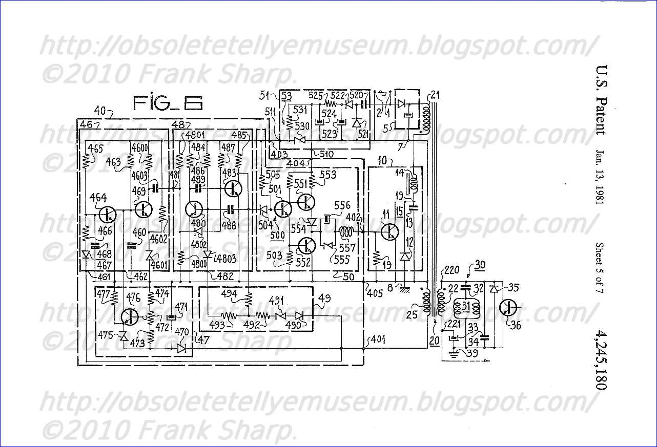 Obsolete Technology Tellye Indesit Mod T12 Si8 Matr 791 Chassis Xv703f Internal View