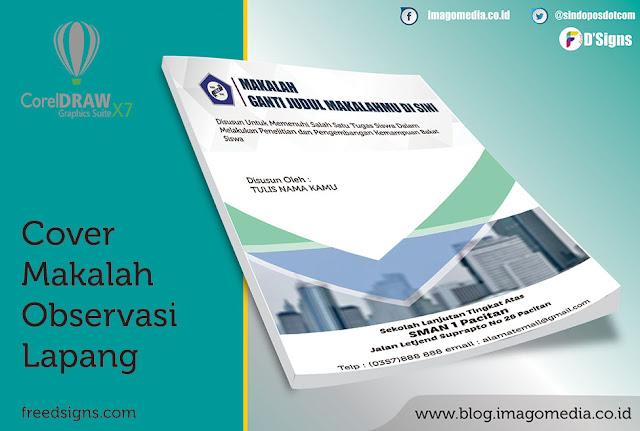 Contoh Cover Makalah Observasi Lapang Tingkat Sekolah