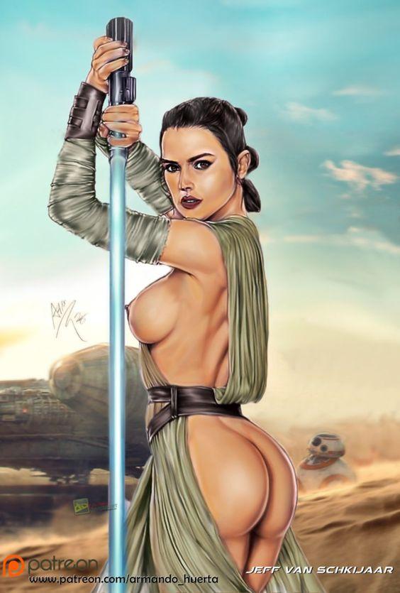 Fter-Studio Star Wars - Sexy Rey-4650