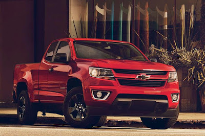 Chevrolet Colorado Shoreline Extended Cab (2017 North American Spec) Front Side