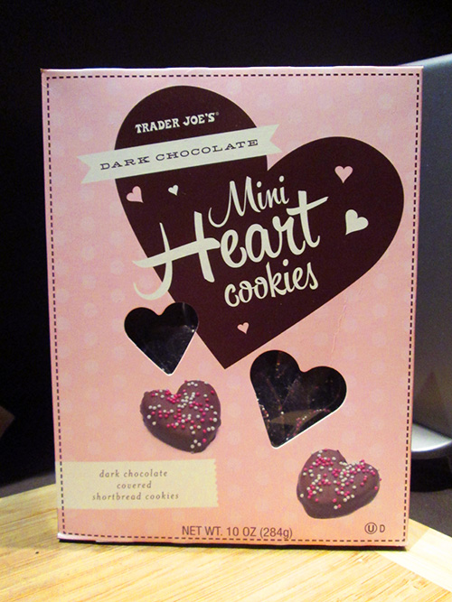 Trader Joe's Dark Chocolate Hearts